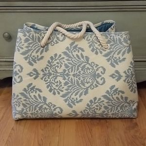 NWOT Canvas tote with handles